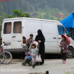 More extreme Muslim tourists from Saudi Arabia have discovered Uzungöl. Women were dressed in their full body armor.