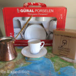 Of course, we had to buy an authentic Turkish coffee set.