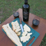 A glass of nice Georgian wine, freshly baked bread and homemade cheese let us forget the hassle of Tbilisi and the Chinese Embassy.