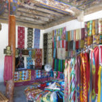 After seeing how these beautiful silk fabrics were made, the factory store was a great place to do some shopping.