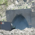 "Dense diesel fumes billowed out of ""The Tunnel of Death""."