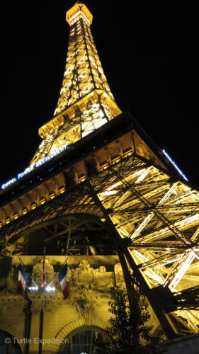 Paris by night...Las Vegas style.