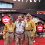 It was fun to touch bases with Bruce Essig at Odyssey Batteries, one of our most important product sponsors. We have known each other for years and he is retiring soon.