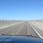 The long drive home across Nevada's Highway 95 is uniquely scenic but also straight-as-an-arrow boring if you've driven it more than once.