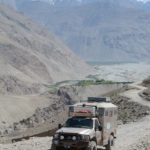 As soon as we left the Panj Valley the track began a steep climb. The scenery told us where we were headed: UP!
