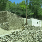 Passing the occasional village, simple homes were built of rocks and one handful of mud at a time.