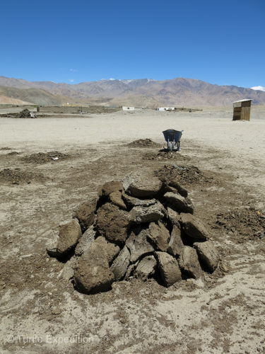 In the treeless valleys, yak dung was saved for cooking and winter fuel.