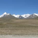 Always surrounding us were the beautiful snowcapped peaks of the Pamir Mountains.