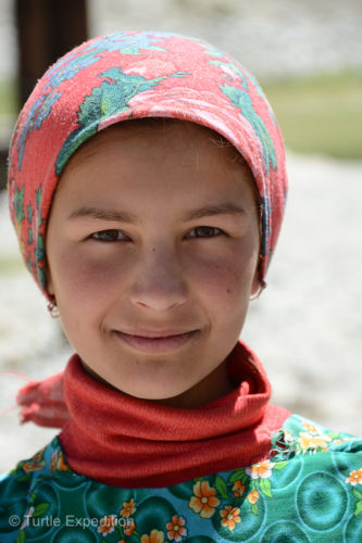 "Little did we know that we would soon meet ""The Magic Girl of the Pamirs""."