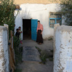 Their home was a traditional Pamir style. An irrigation ditch ran in front of the entrance which may have been their source of water.