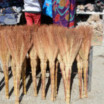 Our favorite Russian brooms were tempting, but we already had a few at home. They are used instead of vacuum cleaners.