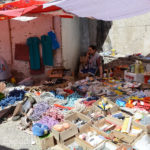 The Khorog market was flooded with cheap Chinese goods.
