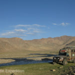 Another beautiful waterfront camp and a good place to wash a few clothes before we crossed the border into Kyrgyzstan.