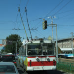 In Bishkek, the capital of Kyrgyzstan, it was easy to get around on busses.