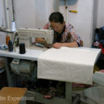 Seamstresses were at our service and most repairs could be made while we waited.