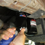 Our Amsoil Dual Filter System allows us to go thousands of miles further before changing our oil.