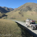 The rolling hills of this part of Kyrgyzstan reminded us of parts of Mongolia.