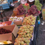 Looks like we are finally out of apricot season but there are plenty of pears, grapes and peaches for sale.