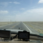 "Taking the turn-off from the ""Southern Silk Road"", (Hwy 315), the land was barren and dead flat."
