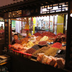 The Dunhuang Night Market was geared towards Chinese tourists.