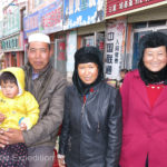 37 different ethnic groups live in Quinghai Province. Xining, where we stopped for the night is the capital.