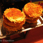 These fried onion cakes were to die for.