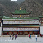 This is of the main Labrang Monastery temples.