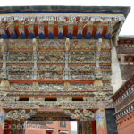 This entrance was particularly amazing with all its complicated symbolism that only a master Tibetan Buddhist could interpret.
