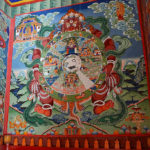 "Nothing was ""just art"". Everything was full of special meanings in the Tibetan Buddhism religion."