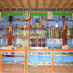 Thousands of pilgrims and tourists visit Labrang Monastery ever year. Gift shops have a huge selection of religious souvenirs.