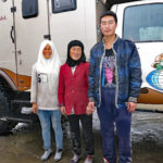 This nice Moslem family just wanted to see our camper after we ate a delicious lunch at their roadside restaurant. They were so polite we could not refuse.