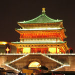 The nightlights of Xian were a far cry from its early days of the Silk Road era that began during the Han dynasty around 200 BCE (BC). For several centuries, the over 4,000-mile trail became the most important trade route between Asia and Europe.