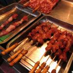 Every kind of shish kebab you can imagine were prepared fresh.
