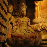 Buddha was well represented in his many incarnations.