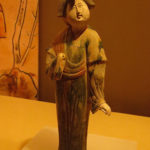 Tri colored female, Tang Dynasty