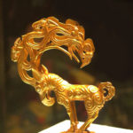 Golden monster, Warring States Period