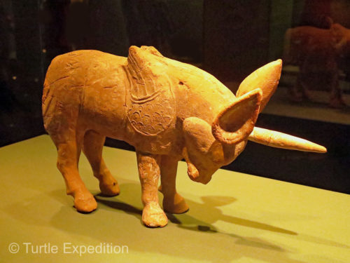 Pottery unicorn, Northern Wei Dynasty