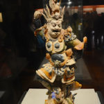 Try colored figures of Heavenly God, Tang Dynasty