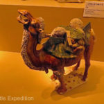 Camels painted pottery, Tang Dynasty