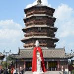 Build in 1056, the Sakyamuni Pagoda of the Fogong Temple is the oldest existing fully wooden pagoda still standing in China.