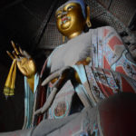 The pagoda is named Sakyamuni Pagoda because of this statue.