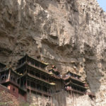 Hunyan Hanging Monastery seemed suspended in air.