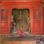 Carvings and statues inside some of the many halls were beautiful and the colors had been relatively well preserved.