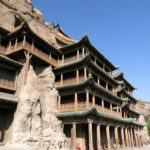 Temples built into the cliff were very ornate as we had seen at the Hanging Monastery the previous day.