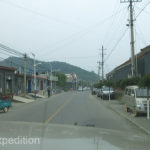 Traffic in the small towns was much more interesting than the highways.
