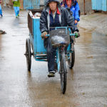 Trash collectors on tricycles could not keep up with the flood of human waste. Plastic bottles, cans and other such garbage did not exist when this Siheyuan was being built, even 60 or 70 years ago.