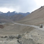 The dusty Pamir Highway was equally as rough in places as the Wakhan Corridor had been.