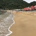 The beach at Yelapa.