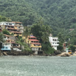 Our hotel was directly across the bay from the village Yelapa.