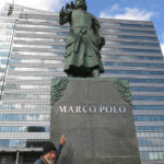 Marco Polo was honored by today's Mongols for the 17 years of service he gave to Kublai Khan, grandson of Ginghis Khan.